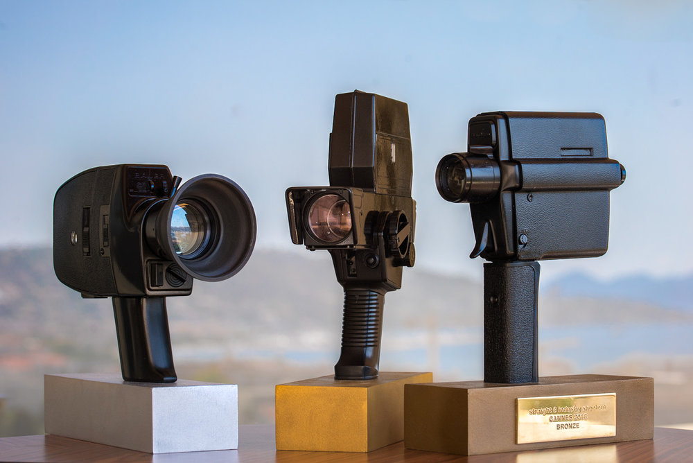 industry shootout trophies cannes 2018