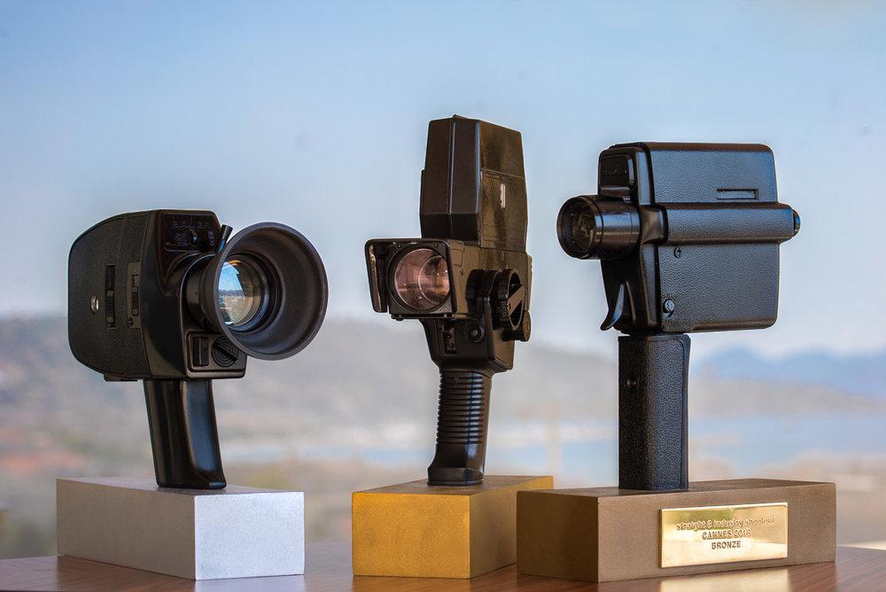 industry shootout trophies cannes 2018