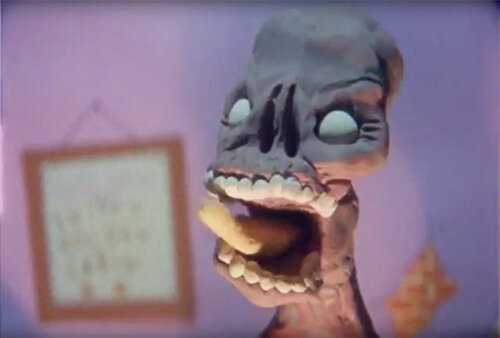 "lee hardcastle's ""a zombie claymation"""