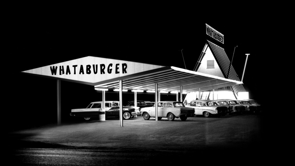 vintage Whataburger A-frame (courtesy Whataburger)