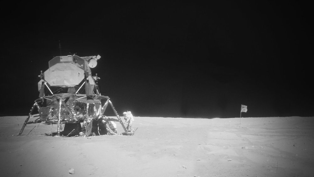Charlie's home on the surface of the Moon. (image courtesy NASA)
