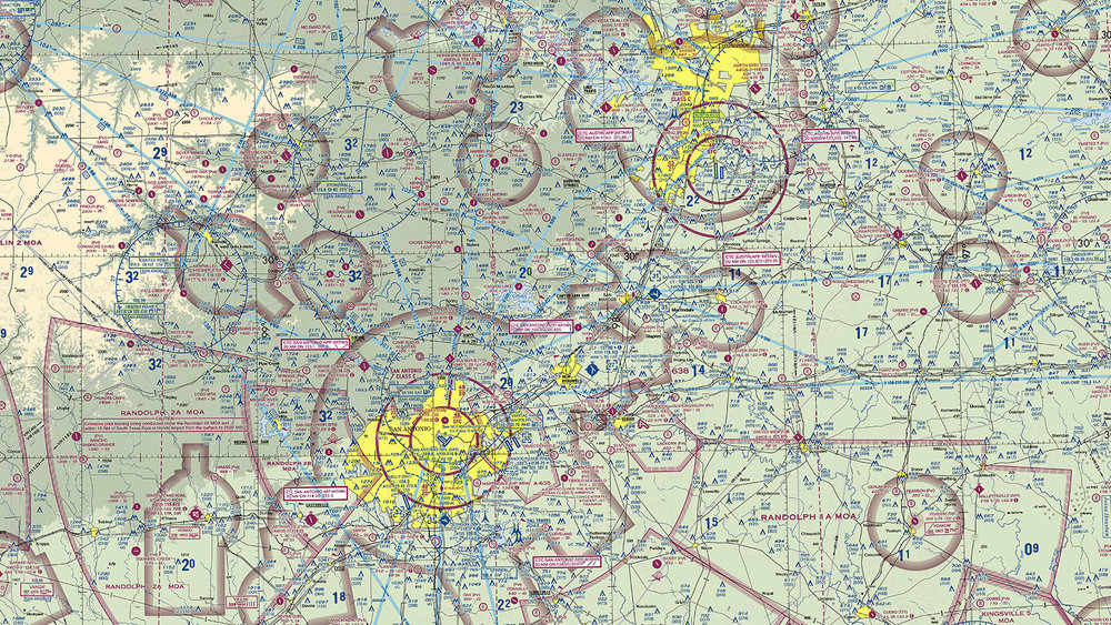 In Praise Of The Sectional Chart HiWorks - Us airspace map drone