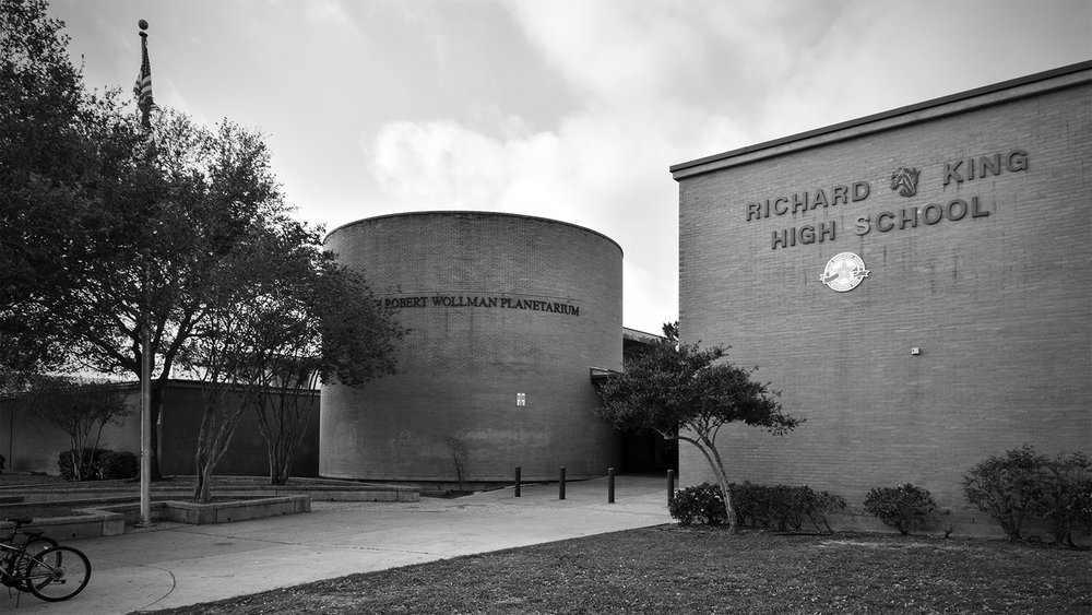 the exterior of the Robert Wollman Planetarium
