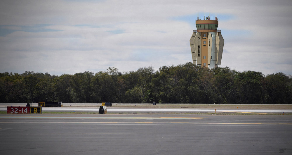 The original rendering for the new Stinson Municipal Airport Control Tower