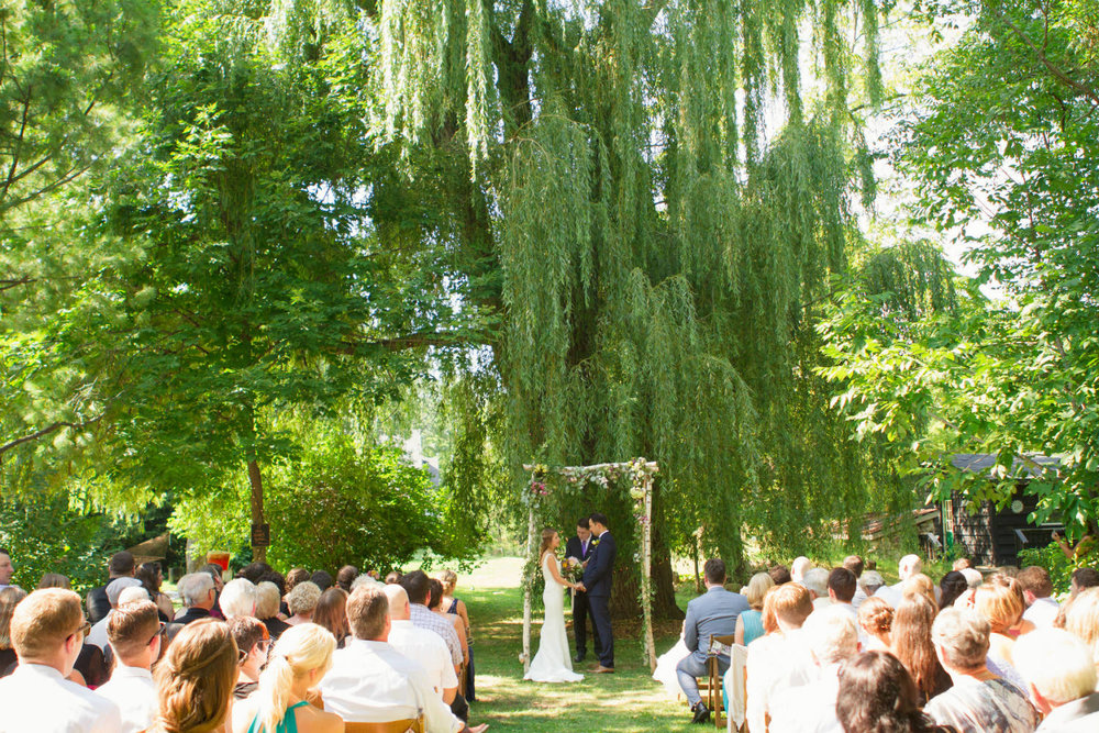 """We immediately fell in love with Beamer Falls Manor after physically visiting 15 other wedding venues all over Ontario!  If you're looking for a venue that allows you to fully be you...look no further..."" - ALINA KOZIAK, BEAMER BRIDE JULY 2016"