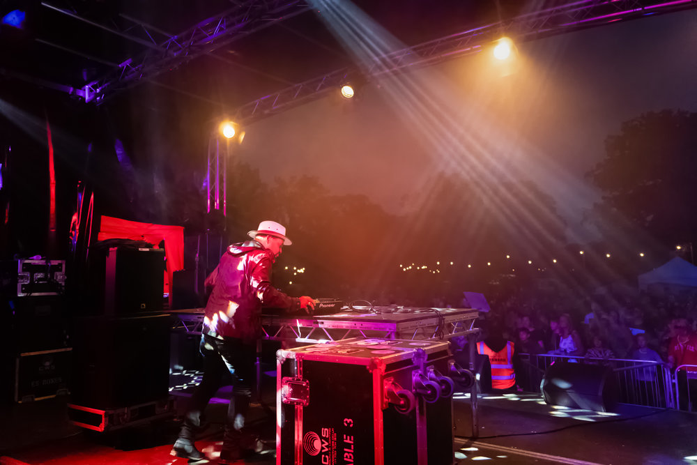 Craig Charles Funk & Soul Show Green Meadows Festival 2018 Elton Cambridgeshire