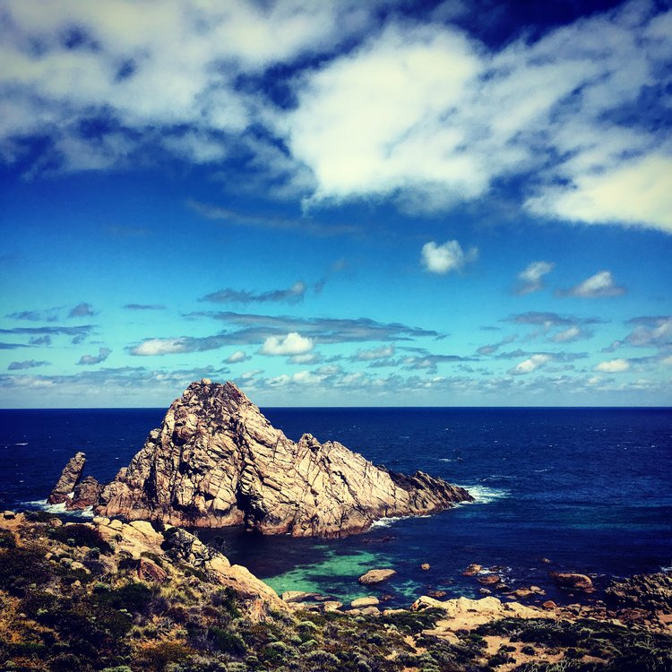 Sugarloaf Rock on the Cape to Cape walk with Edgewalkers