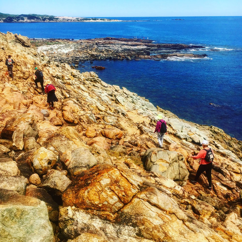 Gracetown on the Rocks WCWR Creativity & Walkign Retreat Margaret River March 2017.jpg
