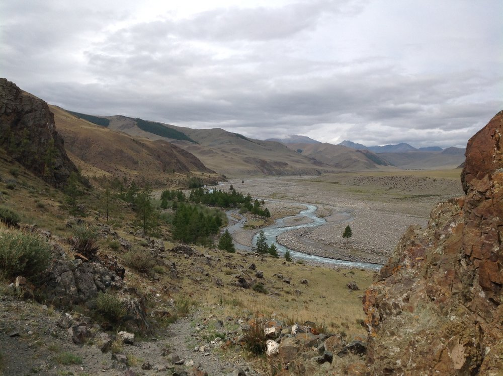 View of a valley - Turgen National Park - Mongolia Walking Tour