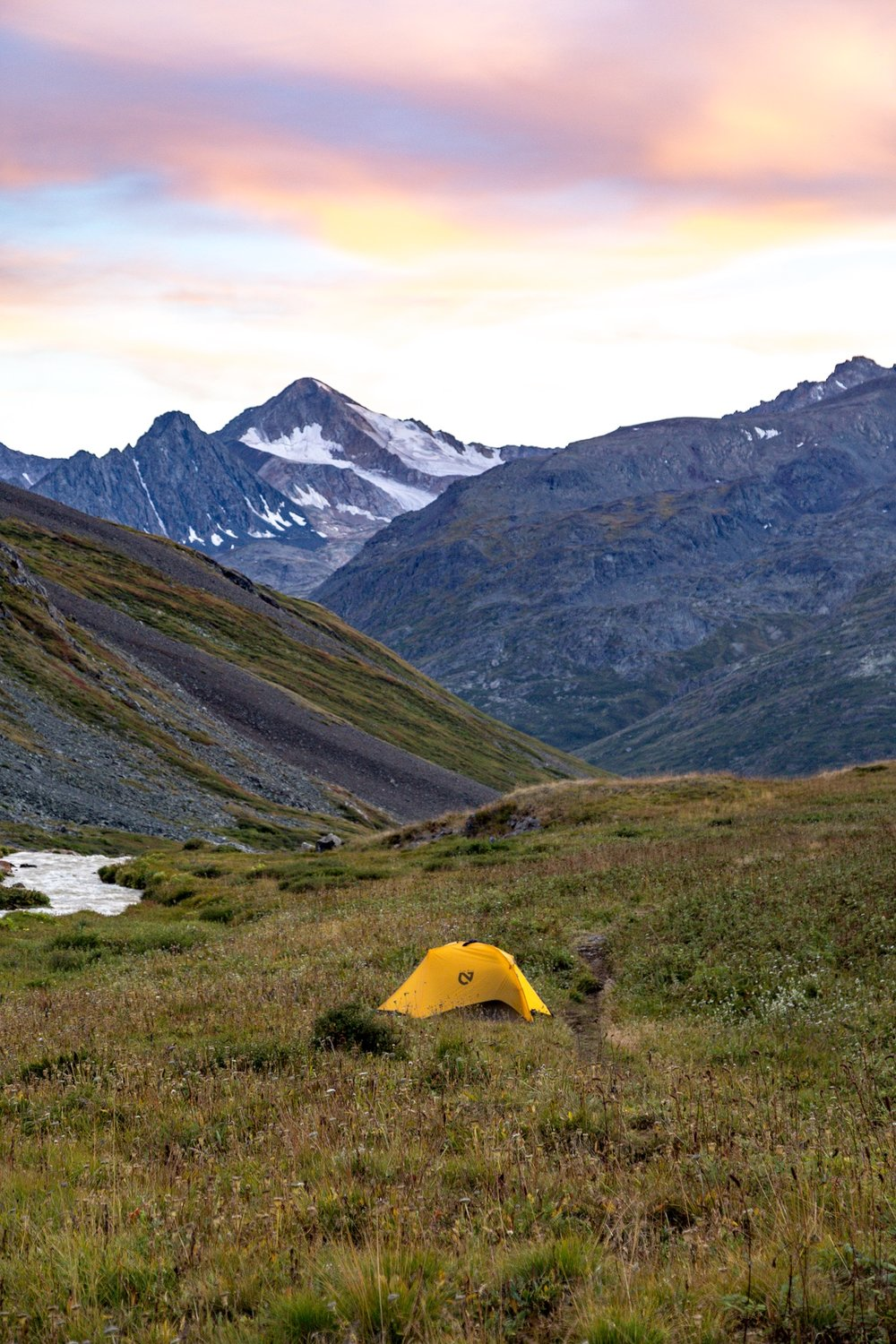 Idyllic places to camp in the Tavan Bogd National Park - Mongolia