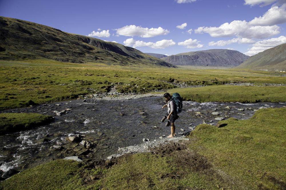 Tavan Bogd National Park - Mongolia Walking Tour - crossings