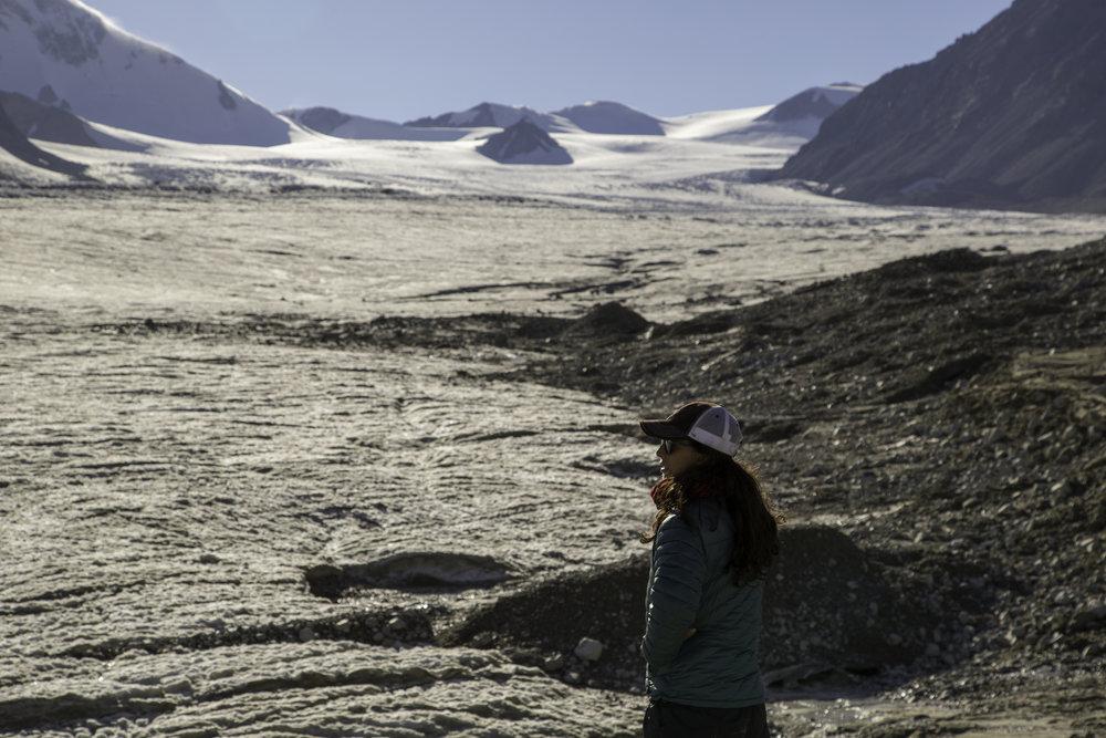 The Potanin Glacier - Mongolia's largest... just a little impressive!