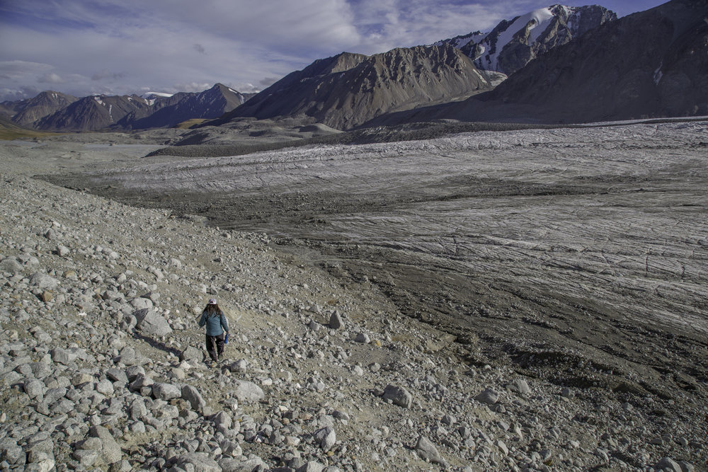 Potaning Glacier - Tavan Bogd National Park - Mongolia
