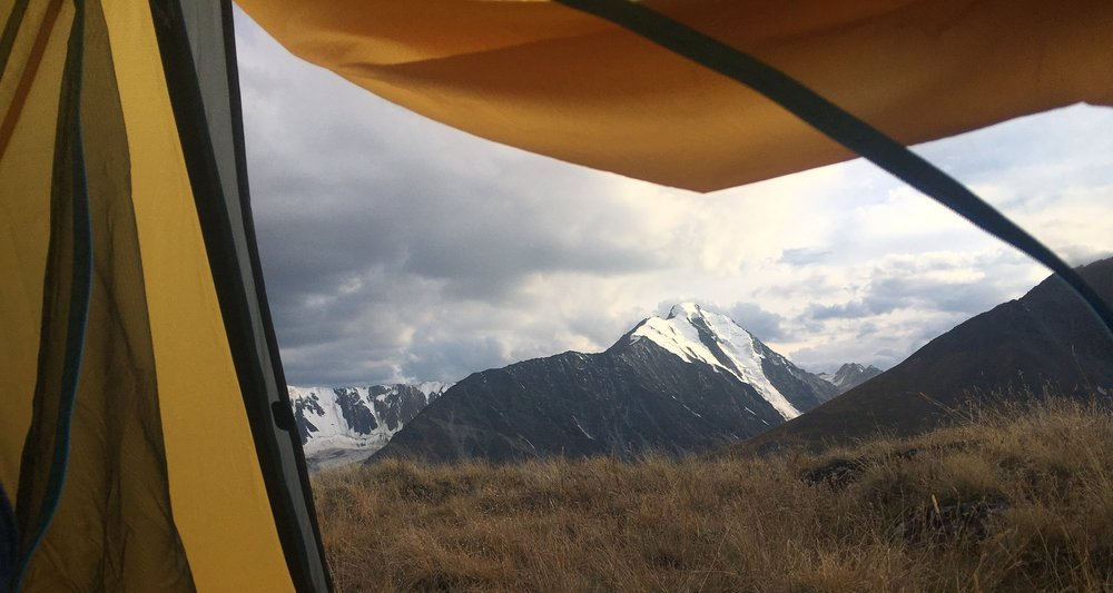 Tavan Bogd National Park, Mongolia - waking up to the Five Sacred Peaks