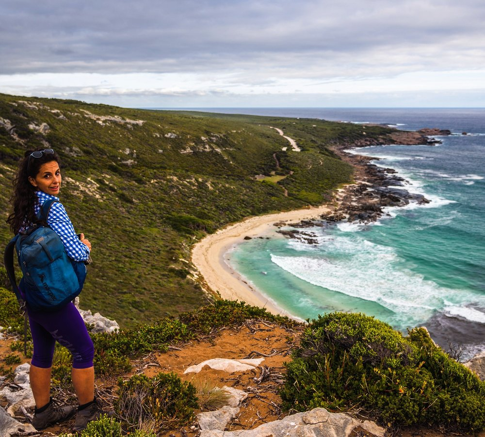 Dr Erika Jacobson…on the Cape to Cape, September 2018