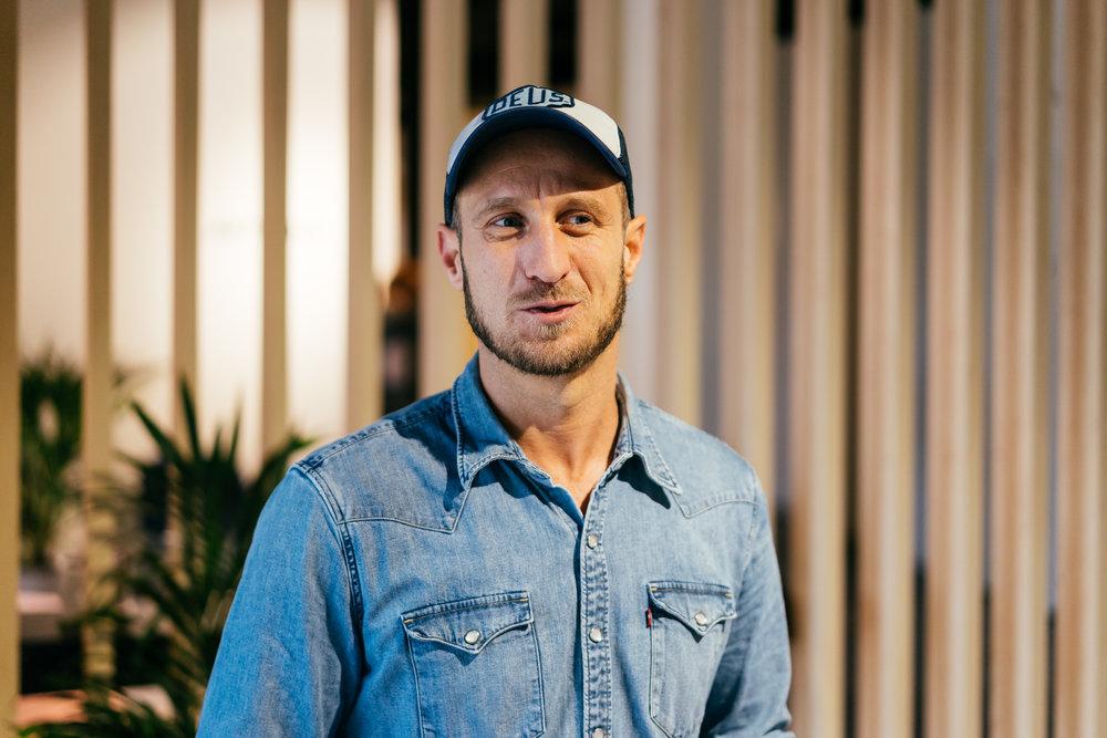 Marc André Pfeiffer ist Co–Founder – und darüber hinaus ein ziemlich sympathischer Kerl!