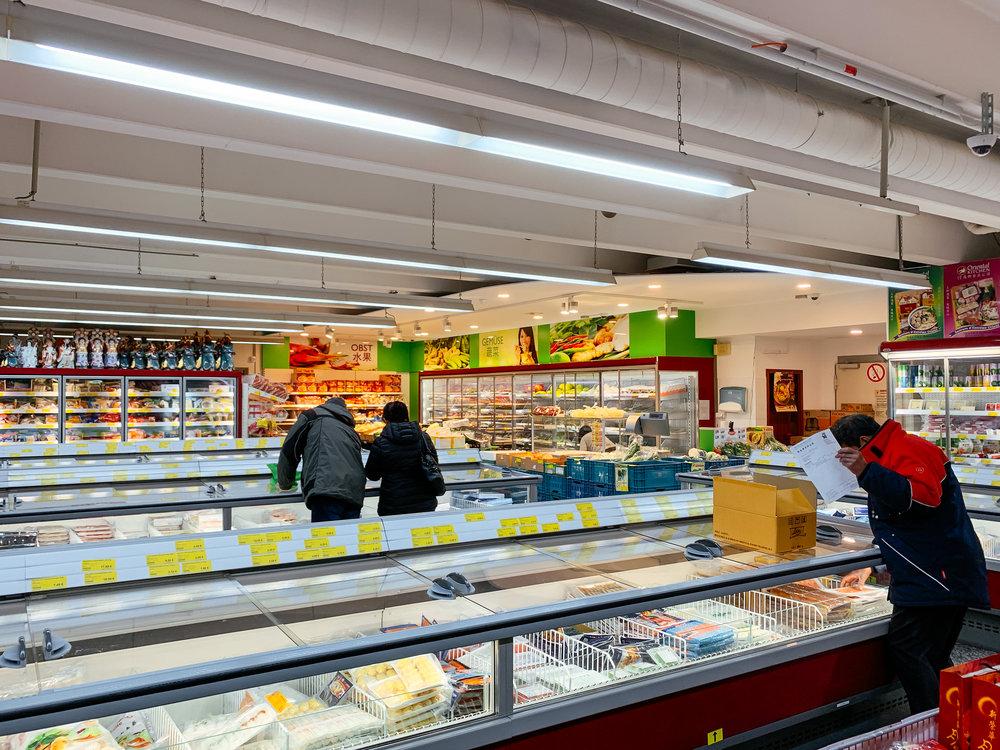 Like China! - Bloss ein paar Meter zu Fuß von der LUDWIGGALERIE entfernt findet sich mit Tain Kim Heng GmbH & Co. KG der größte chinesische / asiatische Supermarkt im gesamten Ruhrpott!