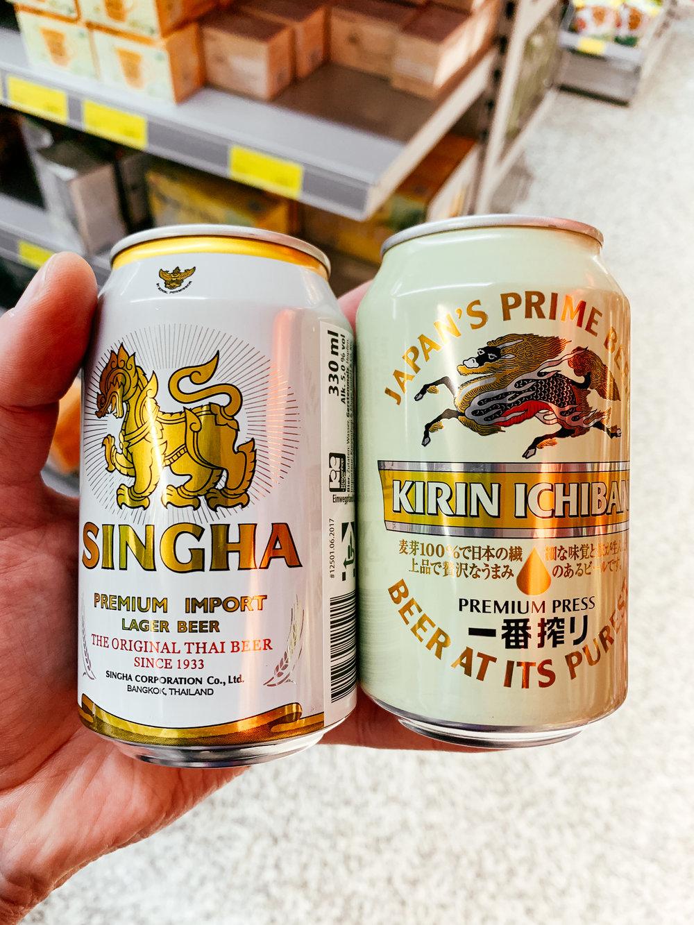 """Leckeres Bier - aus Asien ebenfalls – persönlich mag ich diese ,,exotischeren"""" Lager–Biere sehr gerne! <3"""