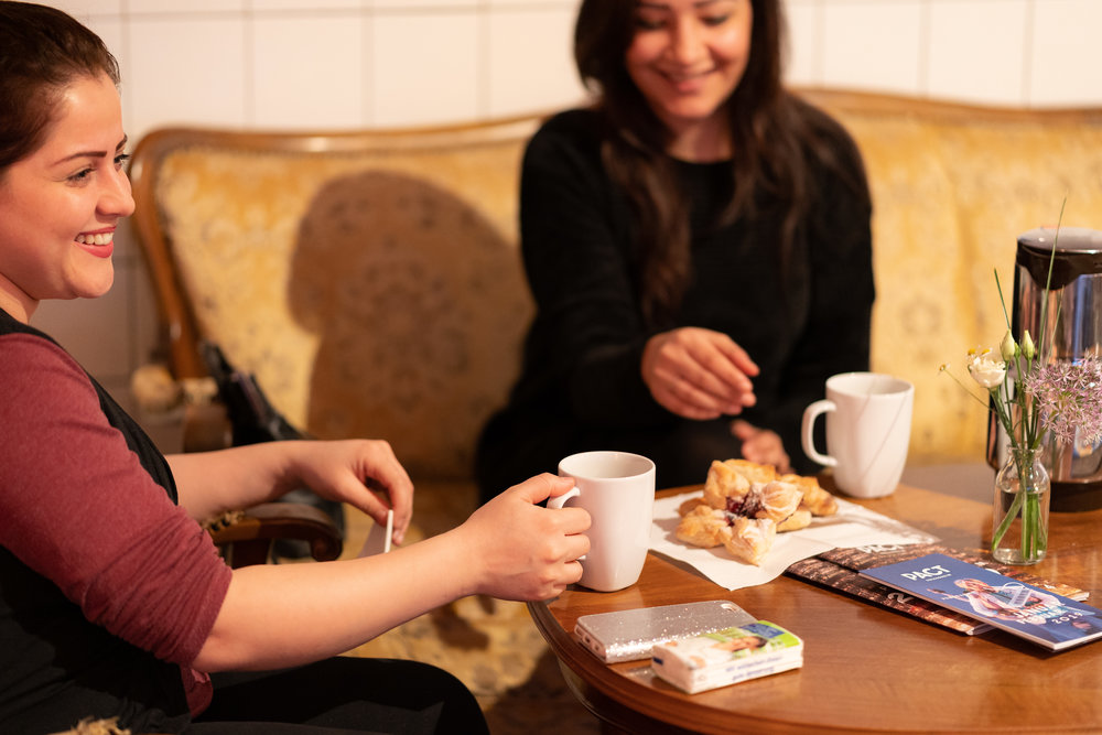 Willkommen im - Pact Café!