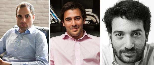 Co-Founders Thanassis Sofianos, Michael Peratikos, Petros Voutsinas