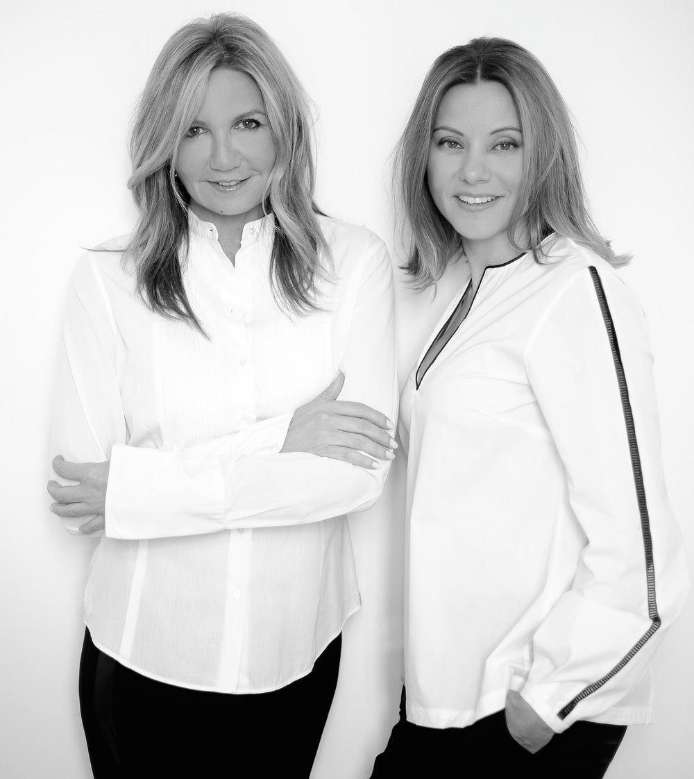 Mareva Grabowski and Dimitra Kolotoura, co-founders of Zeus + Dione