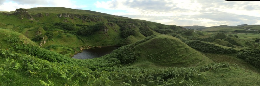 Faerie Glen near Uig on Isle of Sky