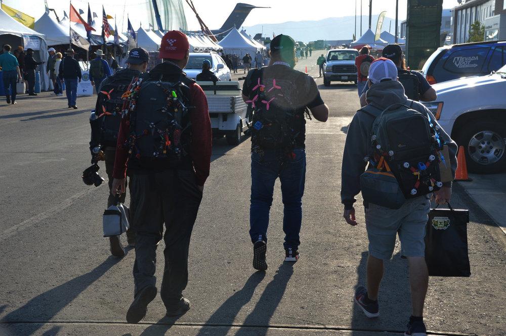Pilots Arrive