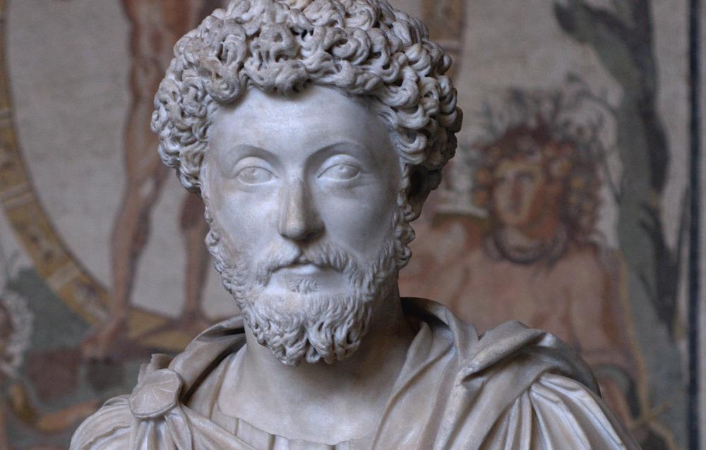 Marcus Aurelius Antoninus. Roman emperor-philosopher,121 - 180 AD.