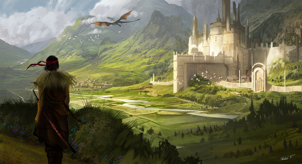 Unreleased game, environment art:Walid Feghali.