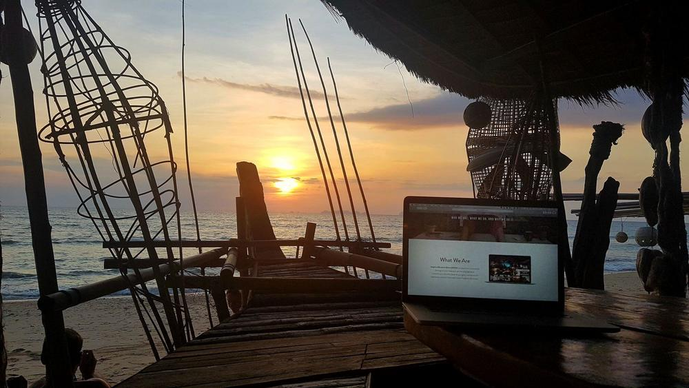 "Beautiful ""office"" view in Thailand"