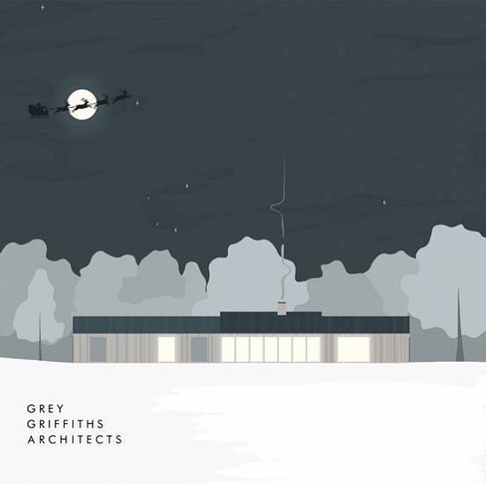 Merry Christmas from all of us at Grey Griffiths Architects. Have a great one, we'll see you in 2019! . . . . . #christmas #architecture #londonarchitecture #londonarchitects #greygriffithsarchitects