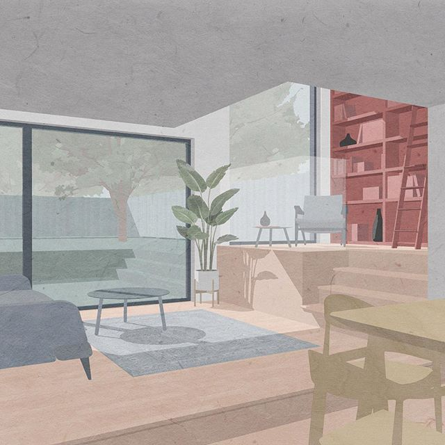 Wait... where did January go?! Been busy working on some exciting new projects. This extension to a grade II listed building in South London is due to be submitted for planning in Feb. . . . . . . #londonarchitects #londonarchitecture #greygriffithsarchitects #southlondon #dontmoveimprove #architecture #architect #architecturalvisualization #interior #listed #listedbuilding #extension #extensions #londonextensions #planning #planningapplication #newproject #thebna @jacksondeans