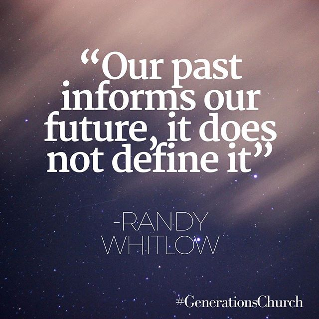 Great word from Pastor Randy Whitlow!
