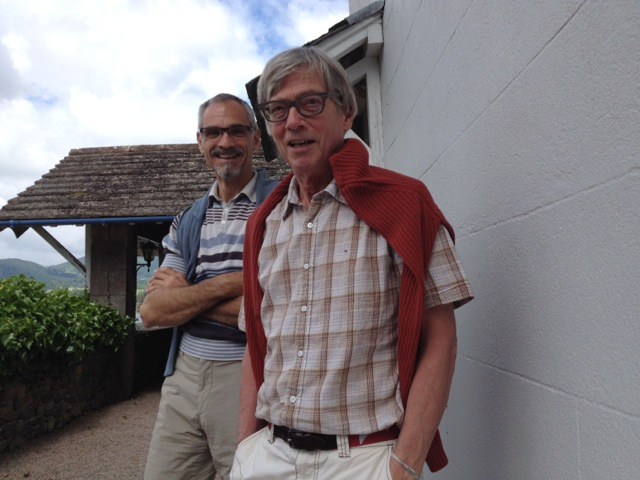 Thomas Meyer with Michael Watt.