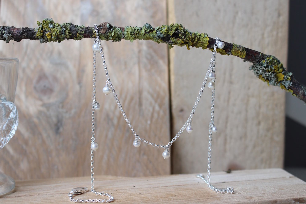 PEARL DROPLETS NECKLACE