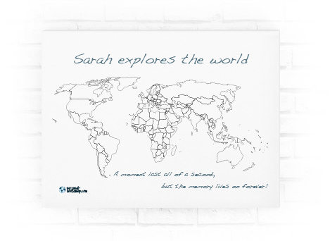 My travel map visited countries map travel map highlight and personal worldmapstrechframeg gumiabroncs Choice Image
