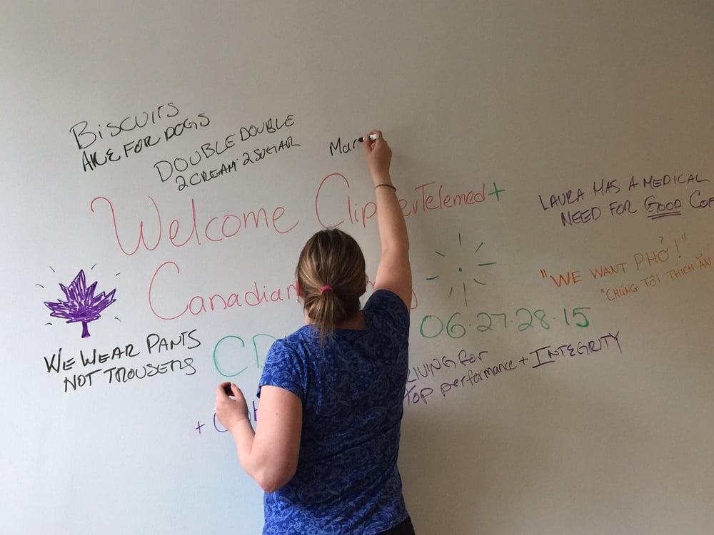 Laura, team coordinator extraordinaire!