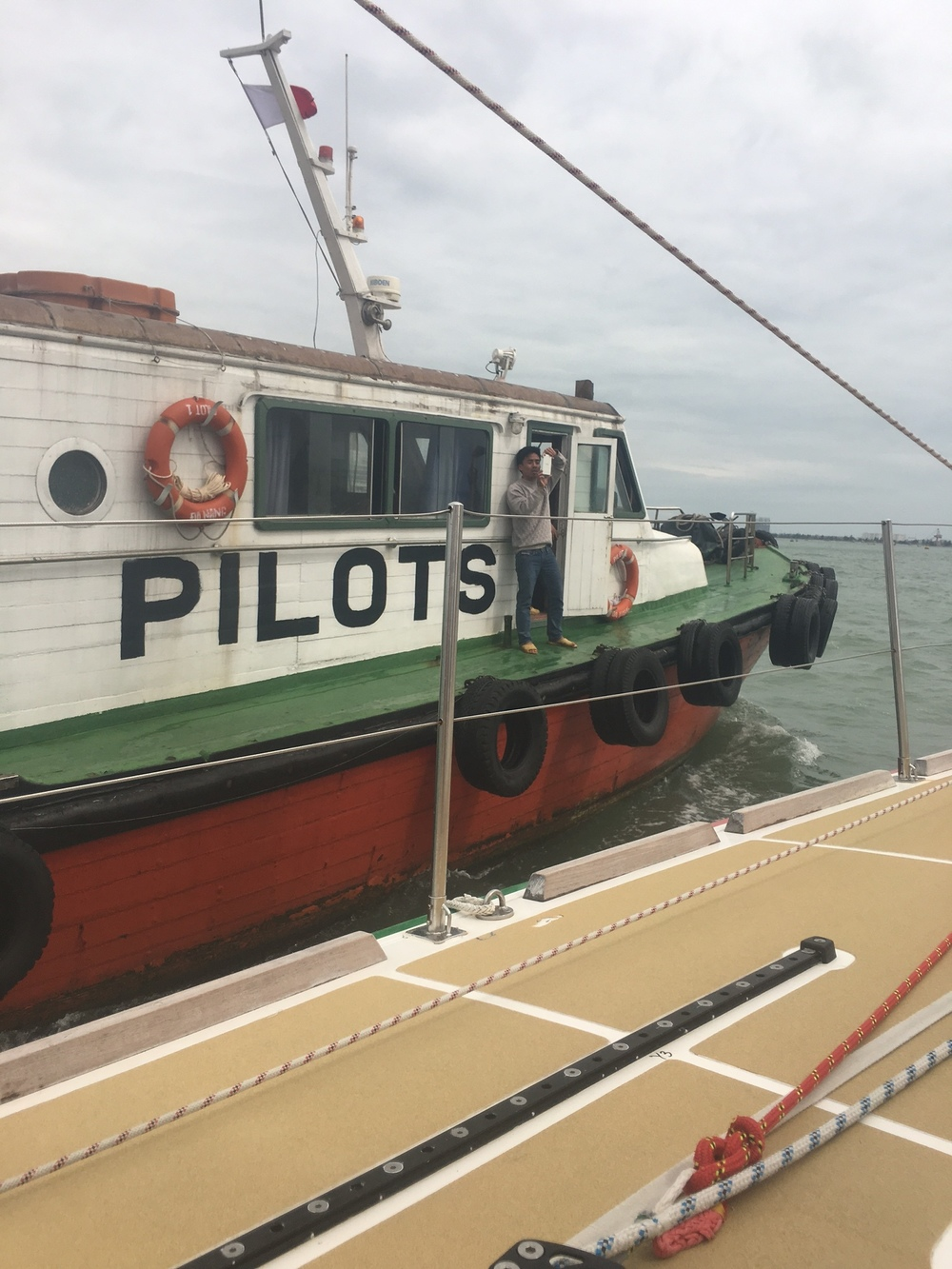 Pilot will board- DaNang