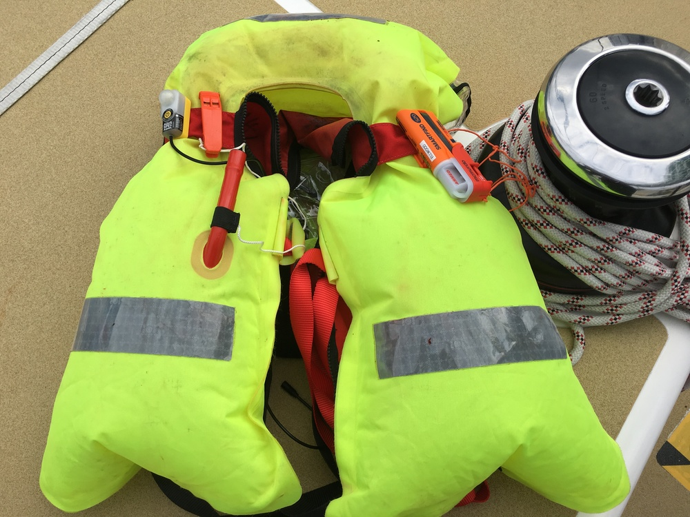 Lifejacket checked