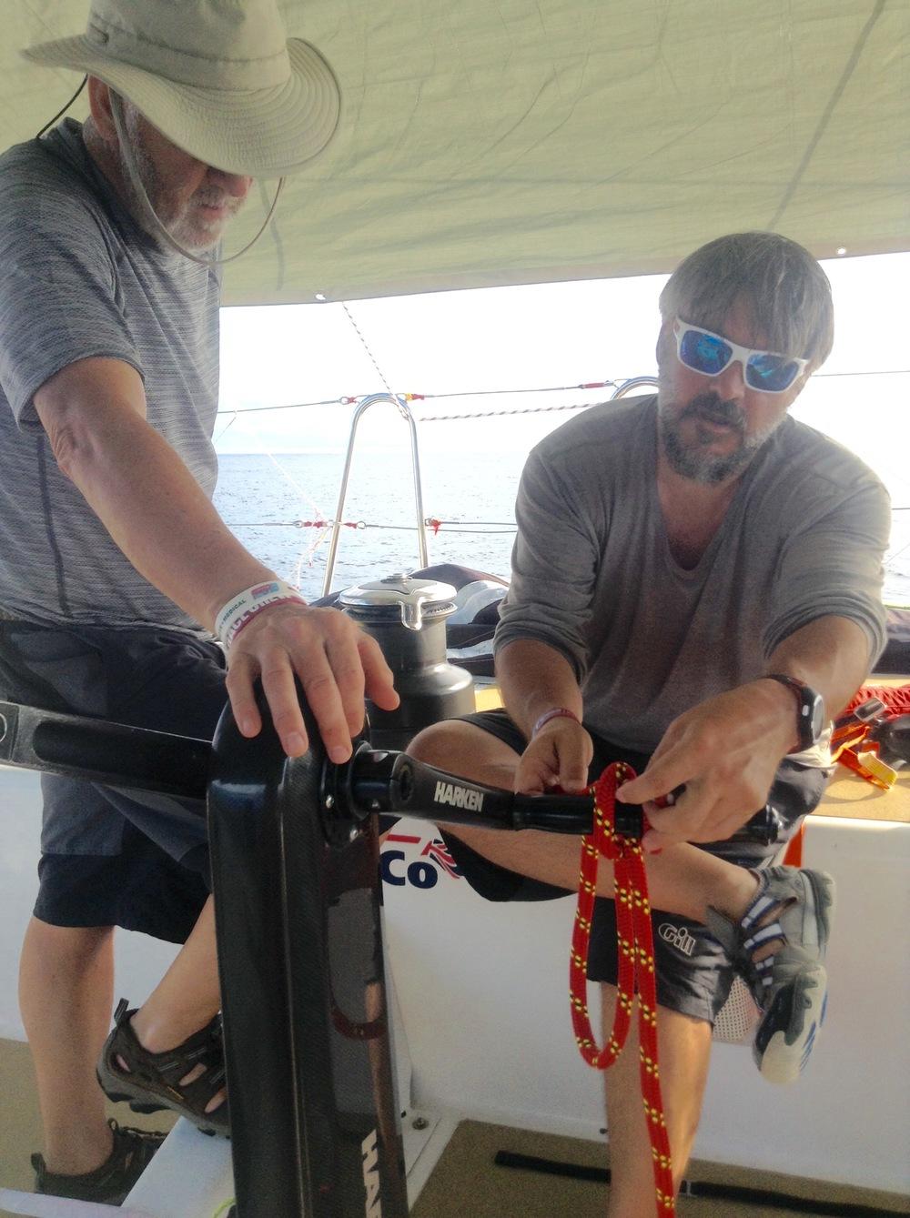 Craig demos constrictor knot