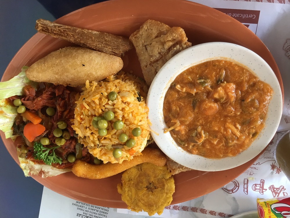 Panamanian platter
