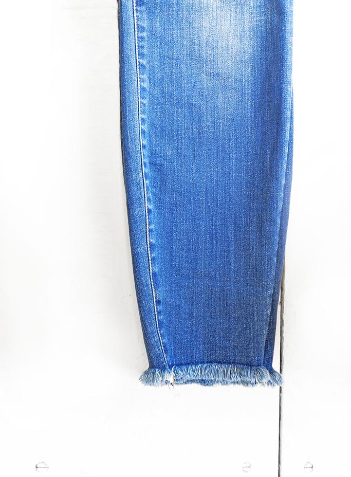 KUT Ankle Fray Hem Skinny , Shop AMaVo, $97