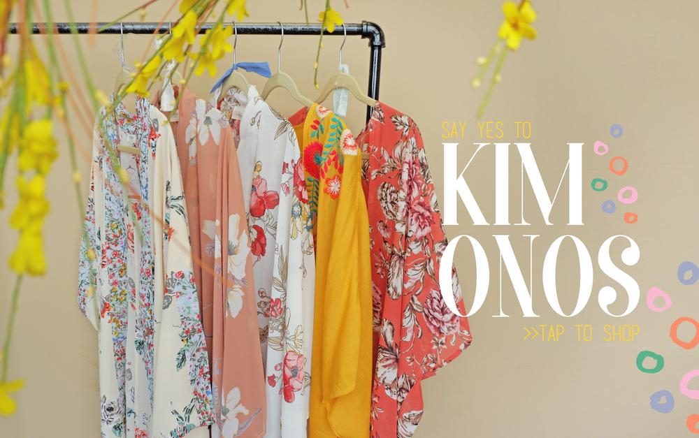 Shop our amazing selection of  kimono's !
