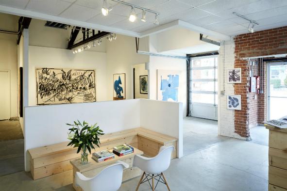 OneWay Gallery interior.