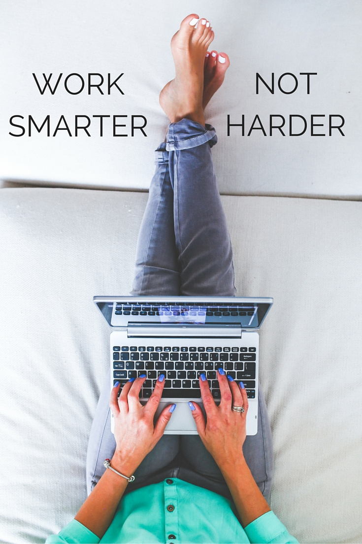 Work smarter, not harder. Relax more. (photo: pexels)