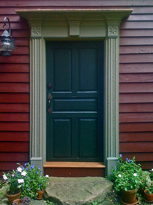 1740 Entry Door Restoration