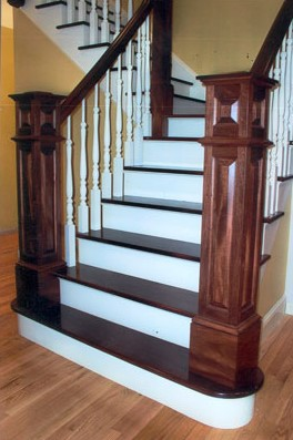 custom newel posts