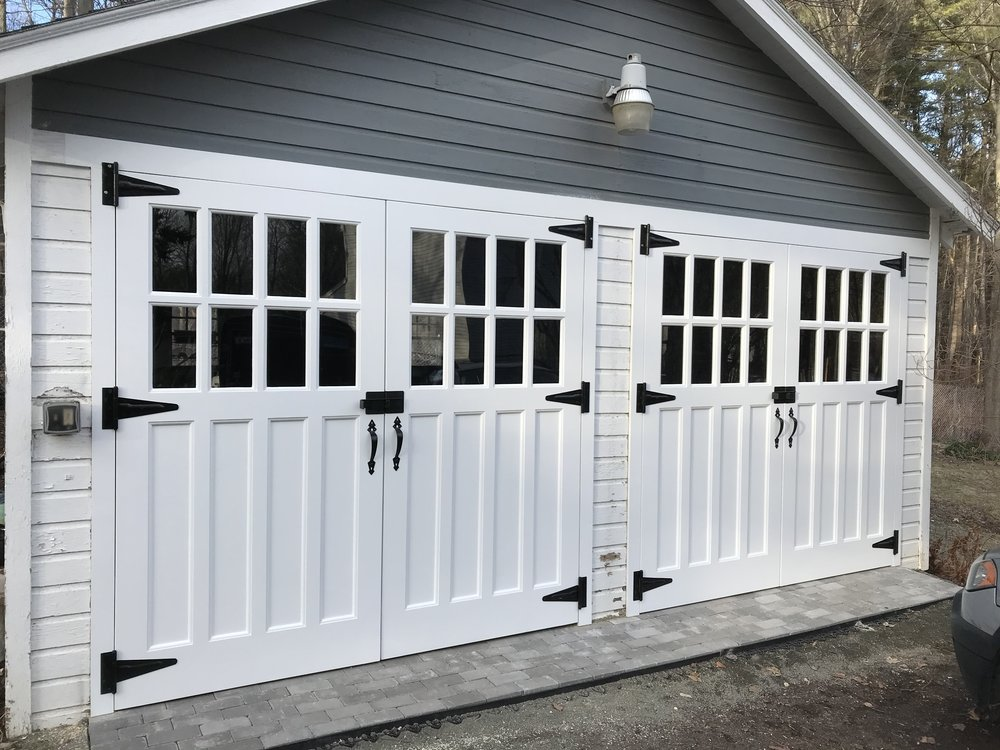 antique garage doors remade
