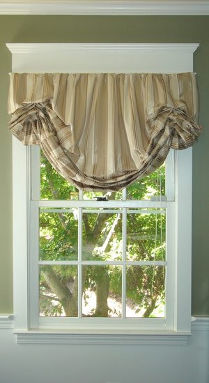 Custom Bedding Window Treatments
