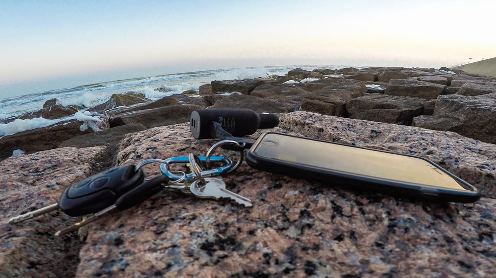 The  Roadtrip Charger  and  Key Cable  are a match made in electronic heaven.